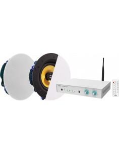 Vision AV-1800+CS-1900 äänenvahvistin Esitys/lava Valkoinen Vision AV-1800+CS-1900 - 1