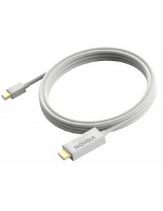 Vision Mini-DisplayPort - HDMI, 2m Valkoinen Vision TC 2MMDPHDMI - 1