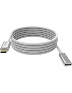 Vision TC 2MUSBCEXT USB-kaapeli 2 m USB 3.2 Gen (3.1 2) C Valkoinen Vision TC 2MUSBCEXT - 1