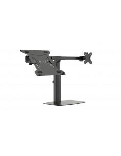 """Vision VFM-DSDG+S Ställ för bärbara datorer 41.9 cm (16.5"""") Arm till bärbar dator och monitor Svart Vision VFM-DSDG+S - 1"""
