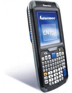"Intermec CN70e RFID-handdatorer 8.89 cm (3.5"") 480 x 640 pixlar Pekskärm 491 g Svart Intermec CN70EQ6KD00W1100 - 1"