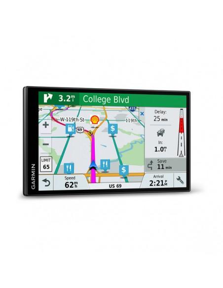 "Garmin DriveSmart 61 LMT-S navigatorer Fast 17.6 cm (6.95"") TFT Pekskärm 243 g Svart Garmin 010-01681-12 - 4"
