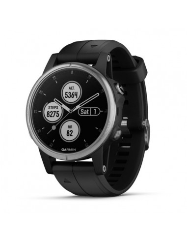 "Garmin fēnix 5S Plus 3.05 cm (1.2"") 42 mm MIP Silver GPS Garmin 010-01987-21 - 1"