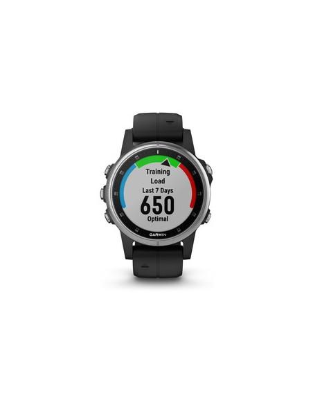 "Garmin fēnix 5S Plus 3.05 cm (1.2"") 42 mm MIP Silver GPS (satellite) Garmin 010-01987-21 - 6"