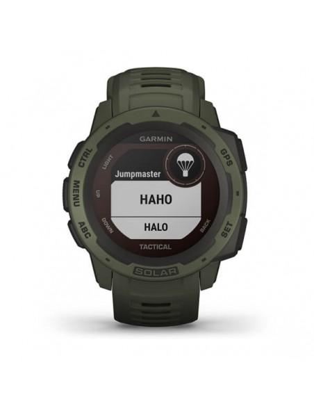 Garmin Instinct Solar Tactical Edition MIP Vihreä GPS (satelliitti) Garmin 010-02293-04 - 4