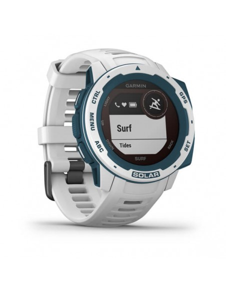 Garmin Instinct Solar – Surf Edition MIP Blue, White GPS (satellite) Garmin 010-02293-08 - 3