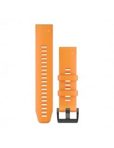 Garmin QuickFit 22 Yhtye Oranssi Silikoni Garmin 010-12740-04 - 1