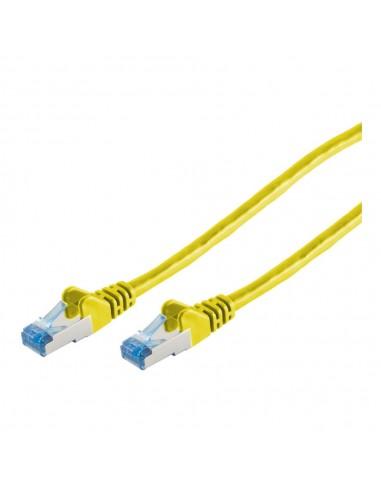 Innovation IT 205874 nätverkskablar Gul 0.5 m Cat6a S/FTP (S-STP) Innovation It 205874 - 1