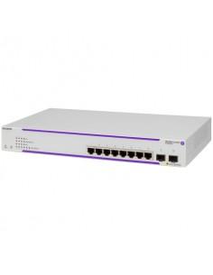 Alcatel OS2220-P8 L2+ Gigabit Ethernet (10/100/1000) Strömförsörjning via (PoE) stöd 1U Vit Alcatel OS2220-P8-EU - 1