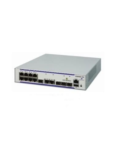 Alcatel-Lucent OS6450-P10 hanterad L2/L3 Gigabit Ethernet (10/100/1000) Strömförsörjning via (PoE) stöd 1U Grå Alcatel OS6450-P1