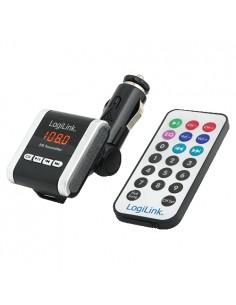 LogiLink FM0001A FM-lähetin 87.5 - 108 MHz Langallinen Musta, Valkoinen Logitech FM0001A - 1