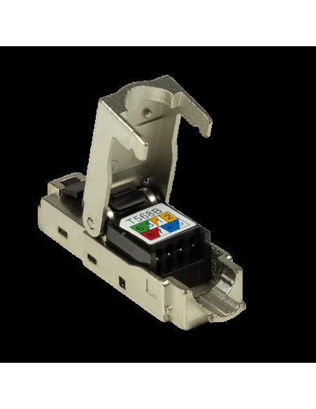 LogiLink MP0044 liitinjohto RJ-45 Ruostumaton teräs Logitech MP0044 - 6