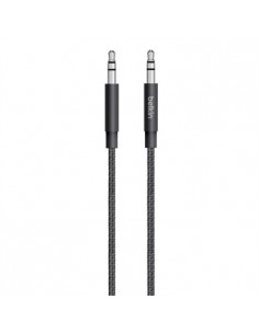 Belkin 3.5mm - 3.5mm, 1.25m audio cable Black Belkin AV10164BT04-BLK - 1