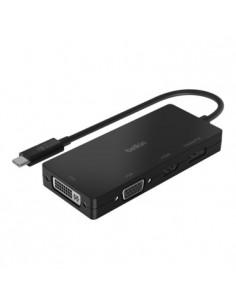 Belkin AVC003BTBK keskitin USB 3.2 Gen 1 (3.1 1) Type-C Musta Belkin AVC003BTBK - 1