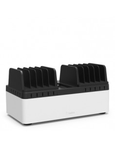Belkin B2B161VF latauspisteen järjestelijä Työpöytä-/seinäkiinnitys Musta, Valkoinen Belkin B2B161VF - 1