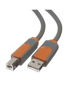 Belkin CU1000CP4.8M USB-kaapeli 4.8 m USB 2.0 A B Harmaa Belkin CU1000CP4.8M - 1