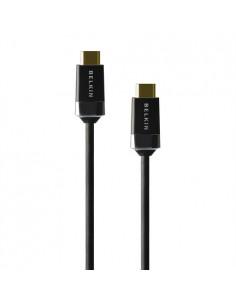 Belkin High Speed HDMI 2m HDMI-kaapeli HDMI-tyyppi A (vakio) Musta Belkin HDMI0018G-2M - 1