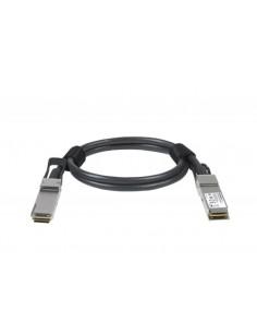 Netgear ACC761-10000S fibre optic cable 1 m QSFP28 Black Netgear ACC761-10000S - 1