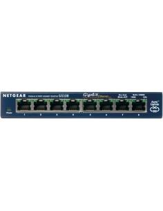 Netgear ProSafe 8-Port Gigabit Desktop Switch Ohanterad Netgear GS108GE - 1