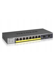 Netgear GS110TP Managed L2/L3/L4 Gigabit Ethernet (10/100/1000) Power over (PoE) Grey Netgear GS110TP-300EUS - 1