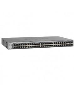 Netgear GS752TSB Managed L3 Gigabit Ethernet (10/100/1000) Black Netgear GS752TSB-100EUS - 1