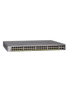 Netgear S3300-52X hanterad L2/L3 Gigabit Ethernet (10/100/1000) Svart Netgear GS752TX-100NES - 1