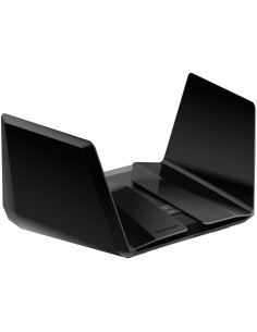 Netgear Nighthawk AX12 wireless router Gigabit Ethernet Dual-band (2.4 GHz / 5 GHz) Black Netgear RAX120-100EUS - 1