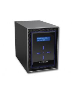 Netgear ReadyNAS 422 NAS Skrivbord Nätverksansluten (Ethernet) Svart C3338 Netgear RN422E2-100NES - 1