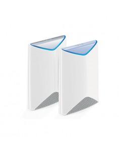 Netgear Orbi Pro Tri-band Business WiFi System + 4x Ceiling Add-on Satellite trådlös router Gigabit Ethernet (2 Netgear SRK60B05