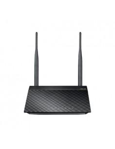 ASUS RT-N12E C1 N300 langaton reititin Nopea Ethernet Yksi kaista (2,4 GHz) Musta, Metallinen Asus 90-IG29002M03-3PA0- - 1