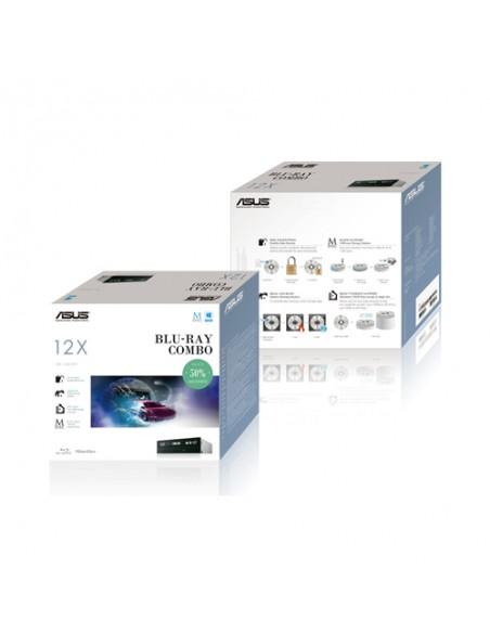 ASUS BC-12D2HT optical disc drive Internal Blu-Ray DVD Combo Black Asus 90DD0230-B20010 - 2