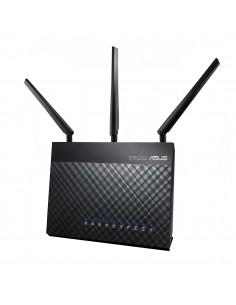 ASUS DSL-AC68U wireless router Gigabit Ethernet Dual-band (2.4 GHz / 5 GHz) 3G Black Asus 90IG00V1-BM3G00 - 1