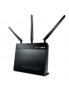 ASUS DSL-AC68U langaton reititin Gigabitti Ethernet Kaksitaajuus (2,4 GHz/5 GHz) Musta Asus 90IG00V1-BU2G00 - 1