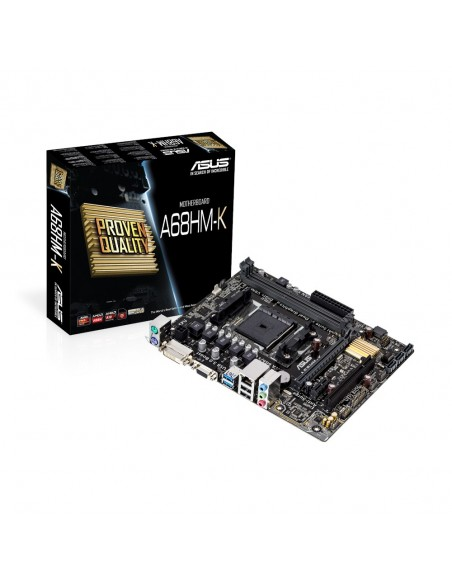 ASUS A68HM-K AMD A68 Socket FM2+ mikro ATX Asus 90MB0KU0-M0EAY0 - 5