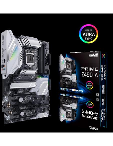 ASUS PRIME Z490-A Intel Z490 LGA 1200 ATX Asus 90MB1390-M0EAY0 - 7