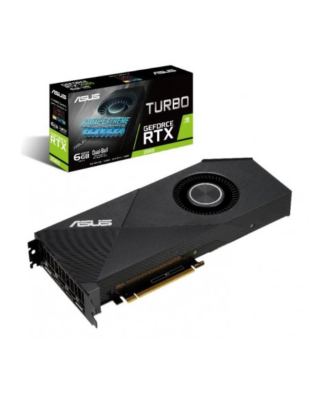 ASUS Turbo -RTX2060-6G NVIDIA GeForce RTX 2060 6 GB GDDR6 Asus 90YV0CM0-M0NA00 - 7