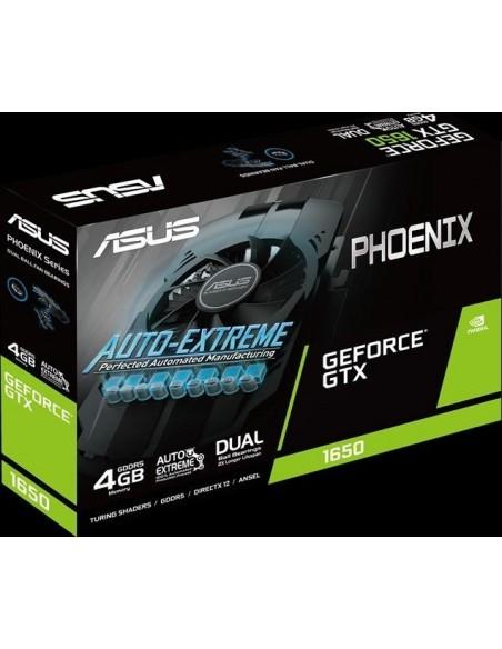 ASUS Phoenix PH-GTX1650-4G NVIDIA GeForce GTX 1650 4 GB GDDR5 Asus 90YV0CV1-M0NA00 - 7