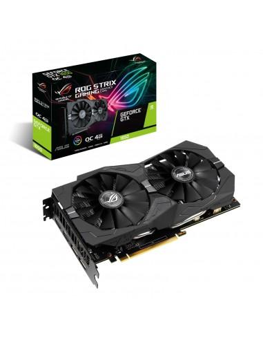 ASUS ROG -STRIX-GTX1650-O4G-GAMING NVIDIA GeForce GTX 1650 4 GB GDDR5 Asus 90YV0CX1-M0NA00 - 1