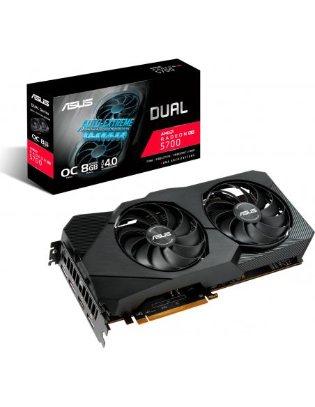 ASUS Dual -RX5700XT-O8G-EVO AMD Radeon RX 5700 XT 8 GB GDDR6 Asus 90YV0DA2-M0NA00 - 2