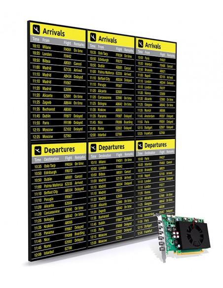 Matrox C680 PCIe x16 Matrox C680-E4GBF - 9