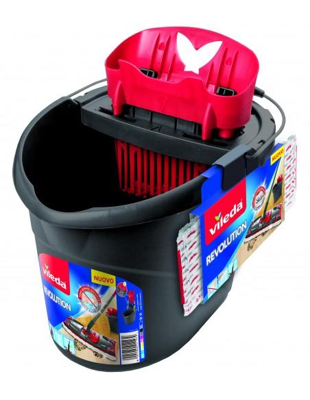 Vileda 158575 mopping system/bucket Single tank Black, Red, White Vileda 158576 - 2