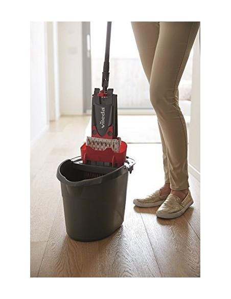Vileda 158575 mopping system/bucket Single tank Black, Red, White Vileda 158576 - 5