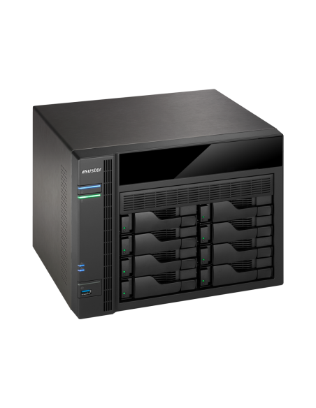ASUS AS5008T NAS Ethernet LAN Black Asustek 90IX00D1-BW3S10 - 4