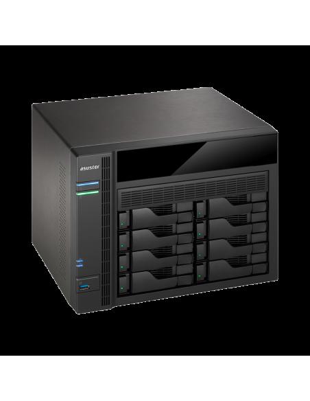 ASUS AS5008T NAS Nätverksansluten (Ethernet) Svart Asustek 90IX00D1-BW3S10 - 4