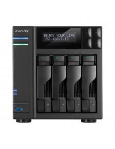 ASUS AS7004T NAS Nätverksansluten (Ethernet) Svart Asustek 90IX00E1-BW3S10 - 1