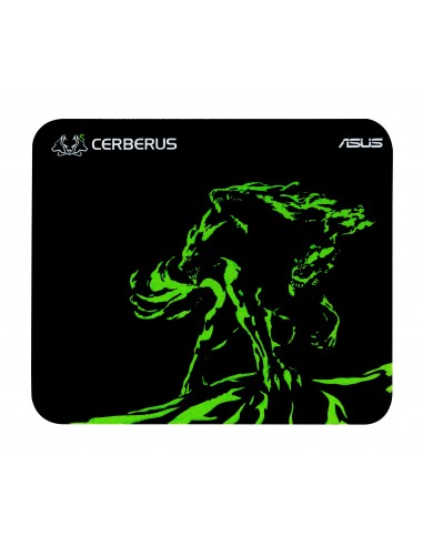ASUS Cerberus Mat Mini Pelihiirimatto Musta, Vihreä Asustek 90YH01C4-BDUA00 - 1