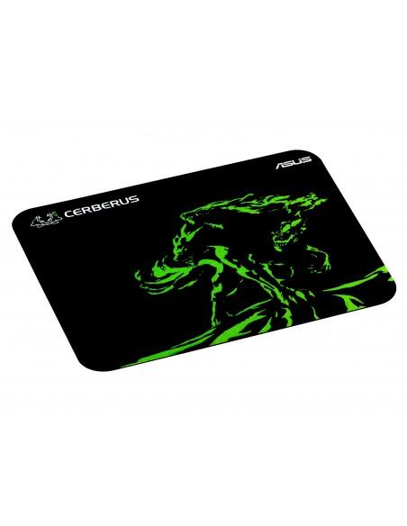 ASUS Cerberus Mat Mini Gaming mouse pad Black, Green Asustek 90YH01C4-BDUA00 - 2