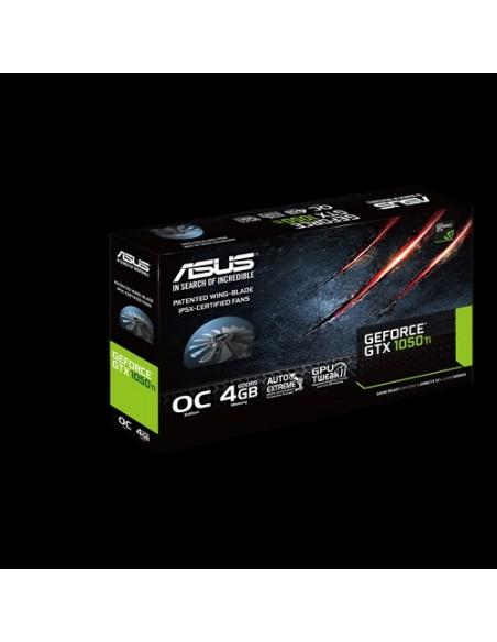 ASUS GTX1050TI-DC2O4G NVIDIA GeForce GTX 1050 Ti 4 GB GDDR5 Asustek 90YV0A32-M0NA00 - 8