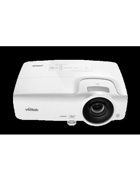 Vivitek DH268 data projector Portable 3500 ANSI lumens DLP 1080p (1920x1080) 3D White Vivitek DH268 - 2