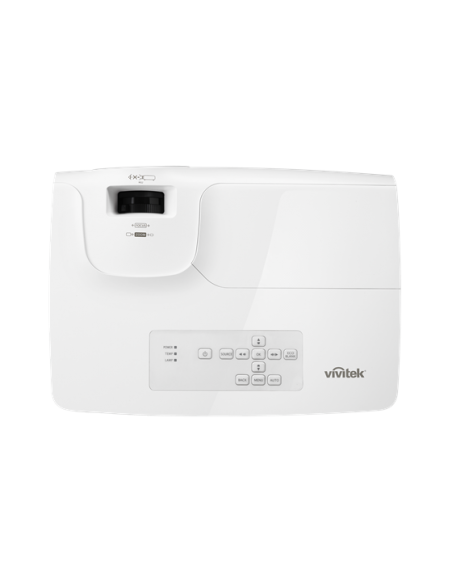 Vivitek DH268 data projector Portable 3500 ANSI lumens DLP 1080p (1920x1080) 3D White Vivitek DH268 - 4